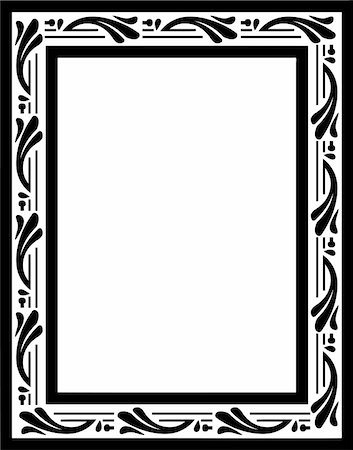 simsearch:400-04872199,k - vintage frame made in vector Stock Photo - Budget Royalty-Free & Subscription, Code: 400-05228986