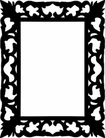 simsearch:400-04872199,k - vintage frame made in vector Stock Photo - Budget Royalty-Free & Subscription, Code: 400-05228981