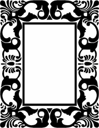 simsearch:400-04872199,k - vintage frame made in vector Stock Photo - Budget Royalty-Free & Subscription, Code: 400-05228982