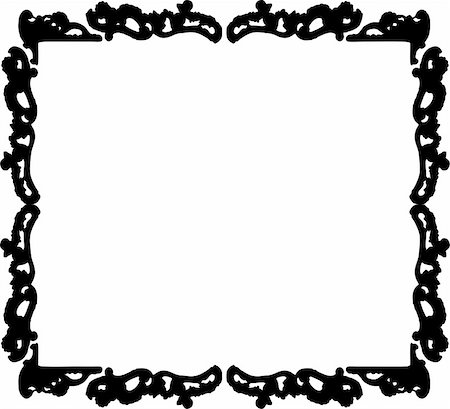 simsearch:400-04872199,k - vintage frame made in vector Stock Photo - Budget Royalty-Free & Subscription, Code: 400-05228983