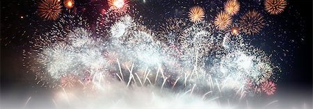 A photography of a great fireworks 2010 Stock Photo - Budget Royalty-Free & Subscription, Code: 400-05222019
