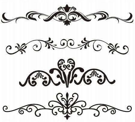 simsearch:400-05235216,k - illustration drawing of flower pattern in a white background Stock Photo - Budget Royalty-Free & Subscription, Code: 400-05235275