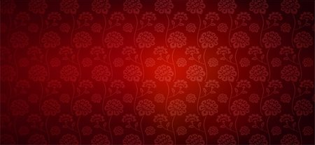 flores - illustration drawing of beautiful red flower pattern Stock Photo - Budget Royalty-Free & Subscription, Code: 400-05235672