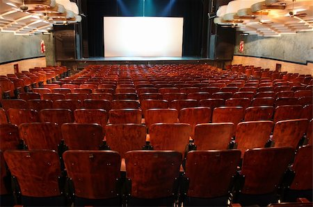 Empty Theatre Stock Photo - Budget Royalty-Free & Subscription, Code: 400-05238348