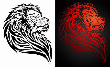 roar lion head picture - Pride lion illustration.  This image is a vector illustration and can be scaled to any size without loss of resolution. Included are a .eps and hires jpeg file. You will need a vector editor such as Adobe Illustrator or Coreldraw to use this file.  Each object are grouped and background are on separate layer for easy editing.  All works were created in adobe illustrator. Stock Photo - Budget Royalty-Free & Subscription, Code: 400-05230245