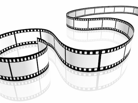 film strip - An image of a film strip white Stock Photo - Budget Royalty-Free & Subscription, Code: 400-05233196