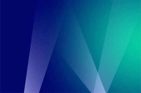 White spotlights shining in upward directions on green and blue background Stock Photo - Budget Royalty-Free & Subscription, Code: 400-05248971