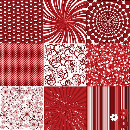 Background collection in red tones Stock Photo - Budget Royalty-Free & Subscription, Code: 400-05241358