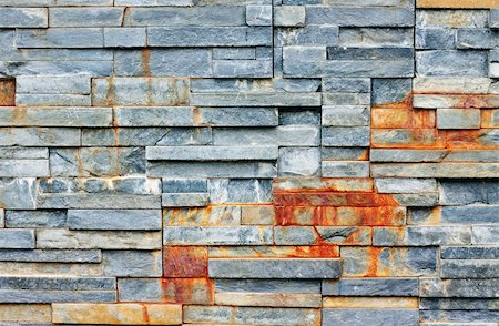 A wall made from stacks of shale rock. great background, texture or wallpaper. Stock Photo - Budget Royalty-Free & Subscription, Code: 400-05243163