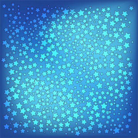 abstract christmas blue stars background Stock Photo - Budget Royalty-Free & Subscription, Code: 400-05255865