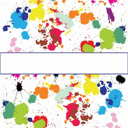dripping splat - Set of ink spots Stock Photo - Budget Royalty-Free & Subscription, Code: 400-05257400
