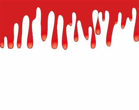 dripping blood illustration - Red paint dripping down. Space for text, or a design,vector illustration Stock Photo - Budget Royalty-Free & Subscription, Code: 400-05250683