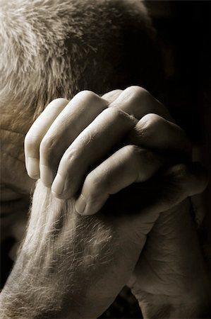 Man Praying Stock Photo - Budget Royalty-Free & Subscription, Code: 400-05262159