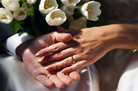 The groom keep the bride for hands Stock Photo - Budget Royalty-Free & Subscription, Code: 400-05263023