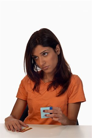 Thinking about what contraceptive method to choose Stock Photo - Budget Royalty-Free & Subscription, Code: 400-05277163