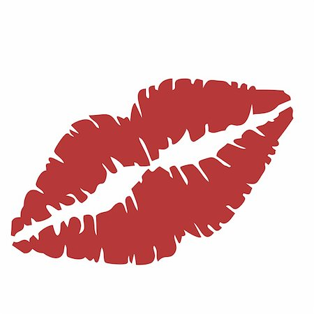 Vector illustration of close up of lips Stock Photo - Budget Royalty-Free & Subscription, Code: 400-05271522