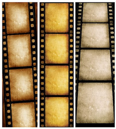 film strip - Close up of vintage movie film strips Stock Photo - Budget Royalty-Free & Subscription, Code: 400-05271662