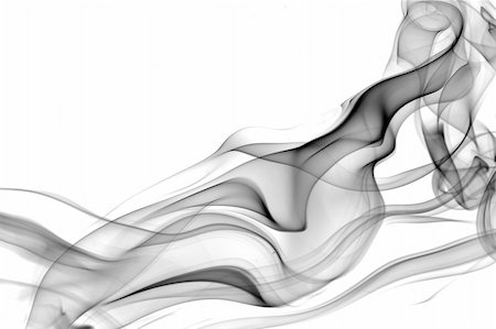 smoke magic abstract - realistic smoke waves decoration and background Stock Photo - Budget Royalty-Free & Subscription, Code: 400-05284365