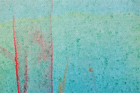 Smudged paint colors on canvas background. Abstract painting. Stock Photo - Budget Royalty-Free & Subscription, Code: 400-05287927