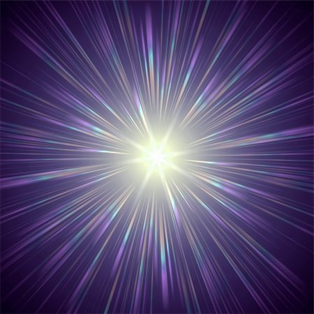 pretty pink star white background - abstract lens flare light over violet background Stock Photo - Budget Royalty-Free & Subscription, Code: 400-05289777