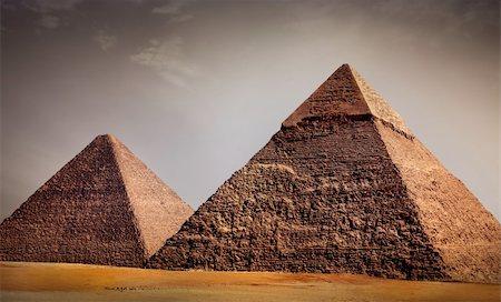 giza pyramids, cairo, egypt Stock Photo - Budget Royalty-Free & Subscription, Code: 400-05280289