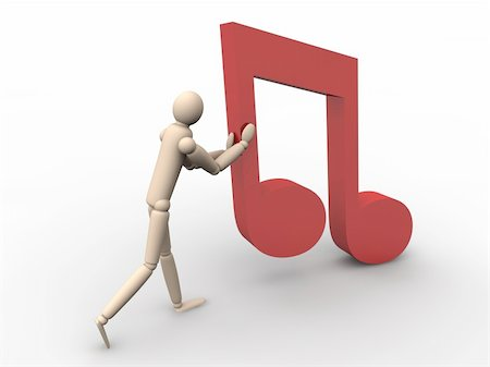 pic music note symbol - Online Music Stock Photo - Budget Royalty-Free & Subscription, Code: 400-05294566