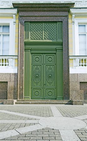 One of entrances to Building of General Army Staff at Palace Square in Saint Petersburg, Russia. Classicism-epoch style. Stock Photo - Budget Royalty-Free & Subscription, Code: 400-05293484