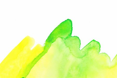 drop painting splash - Abstract watercolor hand painted background.  Spring green grass Stock Photo - Budget Royalty-Free & Subscription, Code: 400-05305710