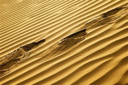 Scenery of desert textures in a sandhill Stock Photo - Budget Royalty-Free & Subscription, Code: 400-05300569