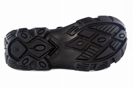 sole of hiking shoes isolated on white background Stock Photo - Budget Royalty-Free & Subscription, Code: 400-05323063