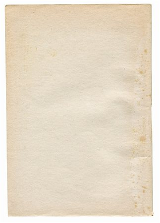 piece of rough very paper isolated on white background Stock Photo - Budget Royalty-Free & Subscription, Code: 400-05331702