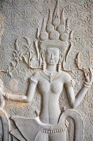 Landscape of historical religious ruins at Angkor Wat,Cambodia Stock Photo - Budget Royalty-Free & Subscription, Code: 400-05333364