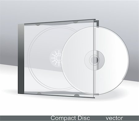 vector cd cover design template with copy space Stock Photo - Budget Royalty-Free & Subscription, Code: 400-05345047