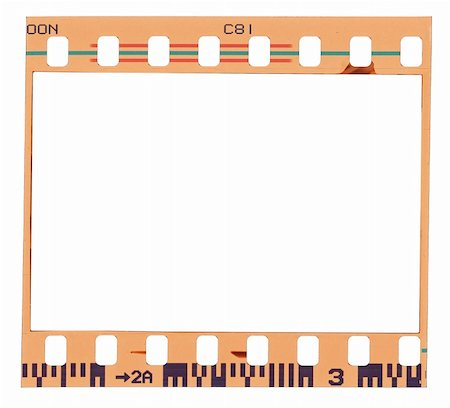 film strip - Blank color film strip frame Stock Photo - Budget Royalty-Free & Subscription, Code: 400-05359509