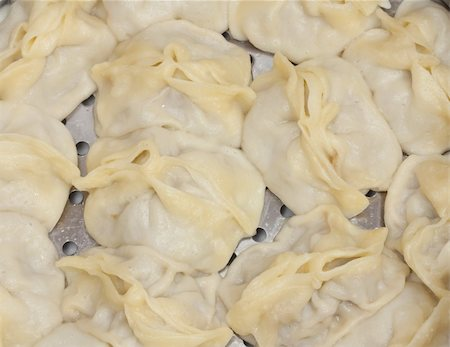 dumplings steamer - Chinese Steamed Buns Stock Photo - Budget Royalty-Free & Subscription, Code: 400-05353034