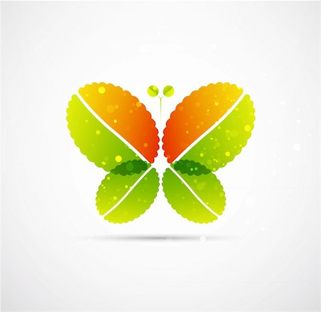 plant leaf paintings graphic - Vector illustration for your design Stock Photo - Budget Royalty-Free & Subscription, Code: 400-05365687