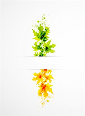 plant leaf paintings graphic - Vector illustration for your design Stock Photo - Budget Royalty-Free & Subscription, Code: 400-05365879