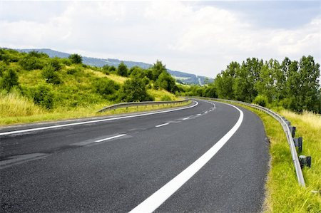 road landscape - Mountain road Stock Photo - Budget Royalty-Free & Subscription, Code: 400-05367561