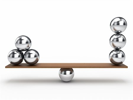 enki (artist) - Balancing balls on wooden board Stock Photo - Budget Royalty-Free & Subscription, Code: 400-05368002