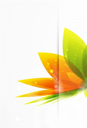 plant leaf paintings graphic - Vector illustration for your design Stock Photo - Budget Royalty-Free & Subscription, Code: 400-05363135