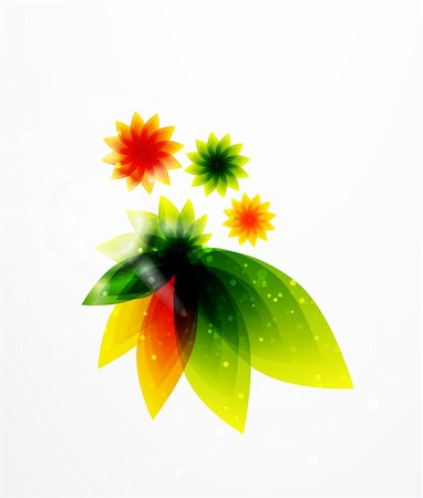 plant leaf paintings graphic - Vector illustration for your design Stock Photo - Budget Royalty-Free & Subscription, Code: 400-05363328