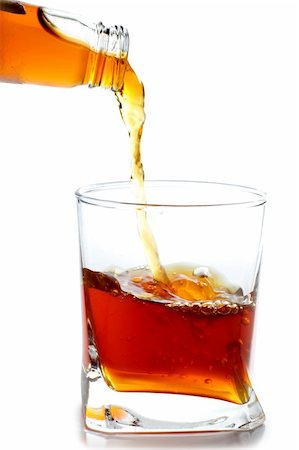 Color photo of a glass of whiskey Stock Photo - Budget Royalty-Free & Subscription, Code: 400-05376979