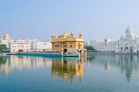 punjabi - Golden Temple/Darbar Sahib, the spiritual and cultural center of the Sikh religion, India Stock Photo - Budget Royalty-Free & Subscription, Code: 400-05373696