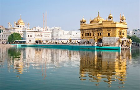 punjabi - Golden Temple/Darbar Sahib, the spiritual and cultural center of the Sikh religion, India Stock Photo - Budget Royalty-Free & Subscription, Code: 400-05373692