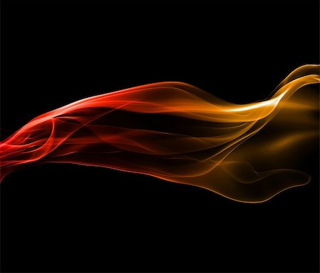 Fiery red and yellow abstract smoke background Stock Photo - Budget Royalty-Free & Subscription, Code: 400-05384055