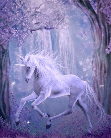3d render of an unicorn Stock Photo - Budget Royalty-Free & Subscription, Code: 400-05387151