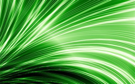 Abstract thin green lines on black background Stock Photo - Budget Royalty-Free & Subscription, Code: 400-05381059