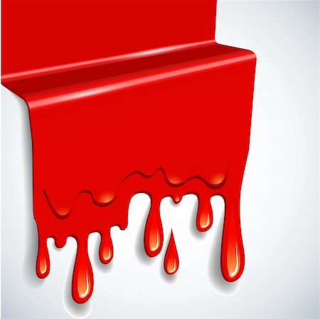 paint dripping graphic - the abstract vector blood background eps 10 Stock Photo - Budget Royalty-Free & Subscription, Code: 400-05668039