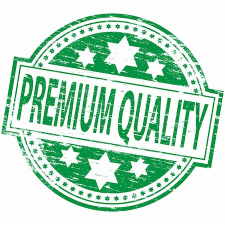"Rubber stamp illustration showing ""PREMIUM QUALITY"" text. Also available as a Vector in Adobe illustrator EPS format, compressed in a zip file Stock Photo - Budget Royalty-Free & Subscription, Code: 400-05668670"