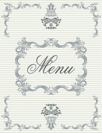 Menu cover 04 Stock Photo - Budget Royalty-Free & Subscription, Code: 400-05676417